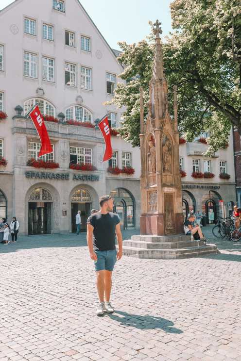 A Morning In German City of Aachen (10)