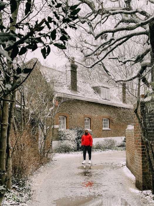 Greenwich Park In Winter London