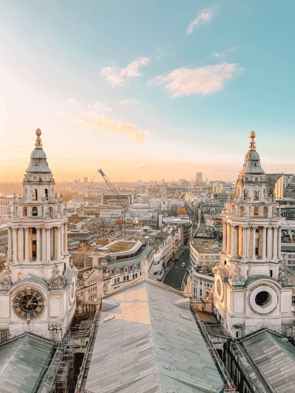 St Pauls Cathedral London view