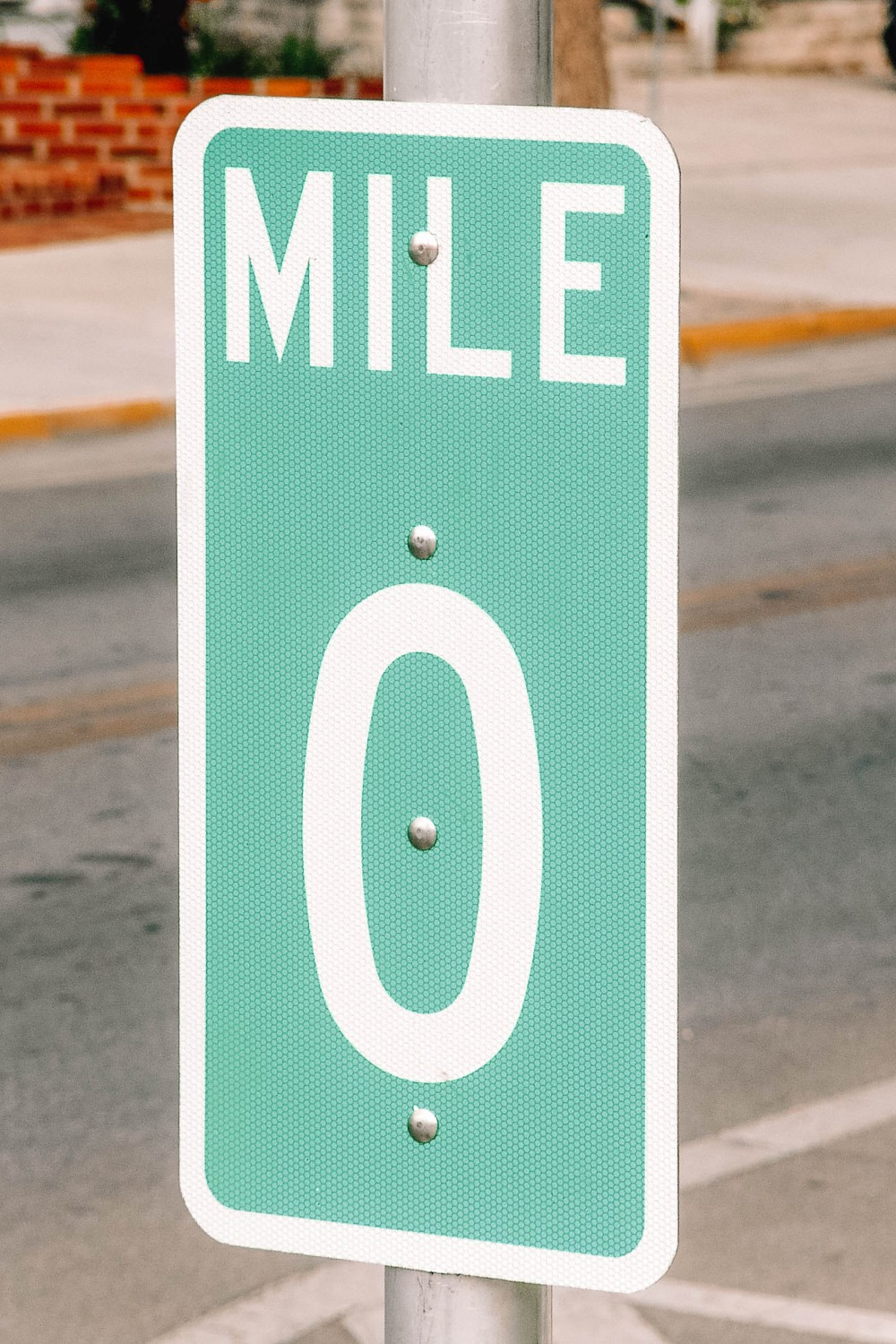 Mile Zero In The Florida Keys