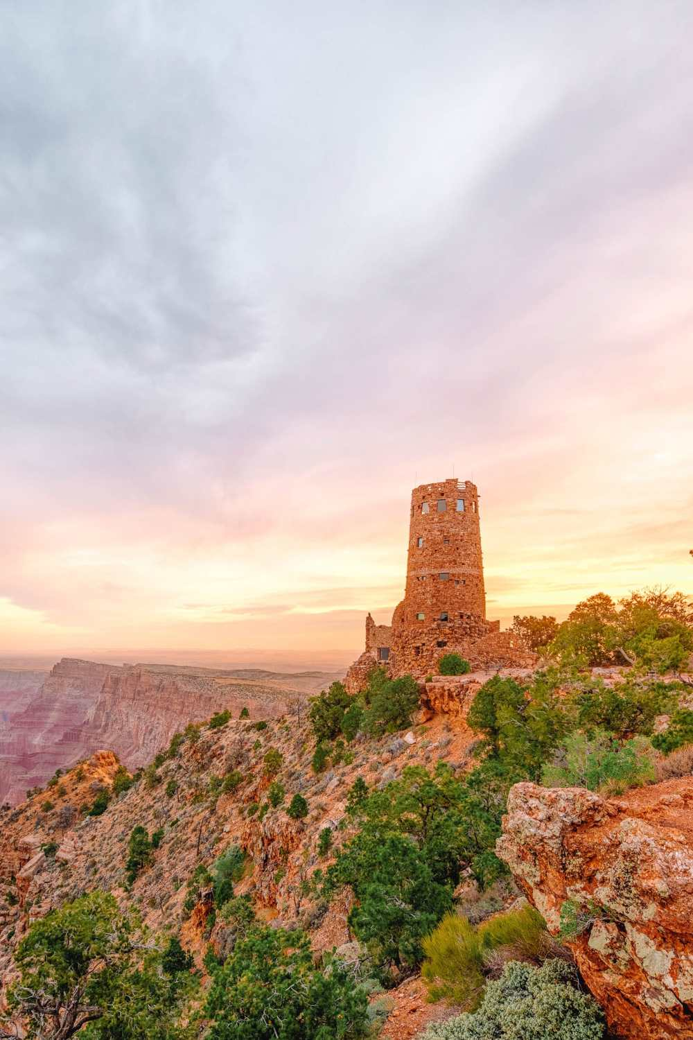 Tower In The Grand Canyon