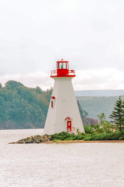 Bras D'Or Lake in Nova Scotia