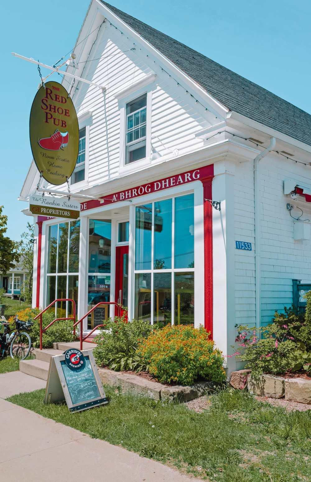 Red Shoe Pub Mabou In Nova Scotia