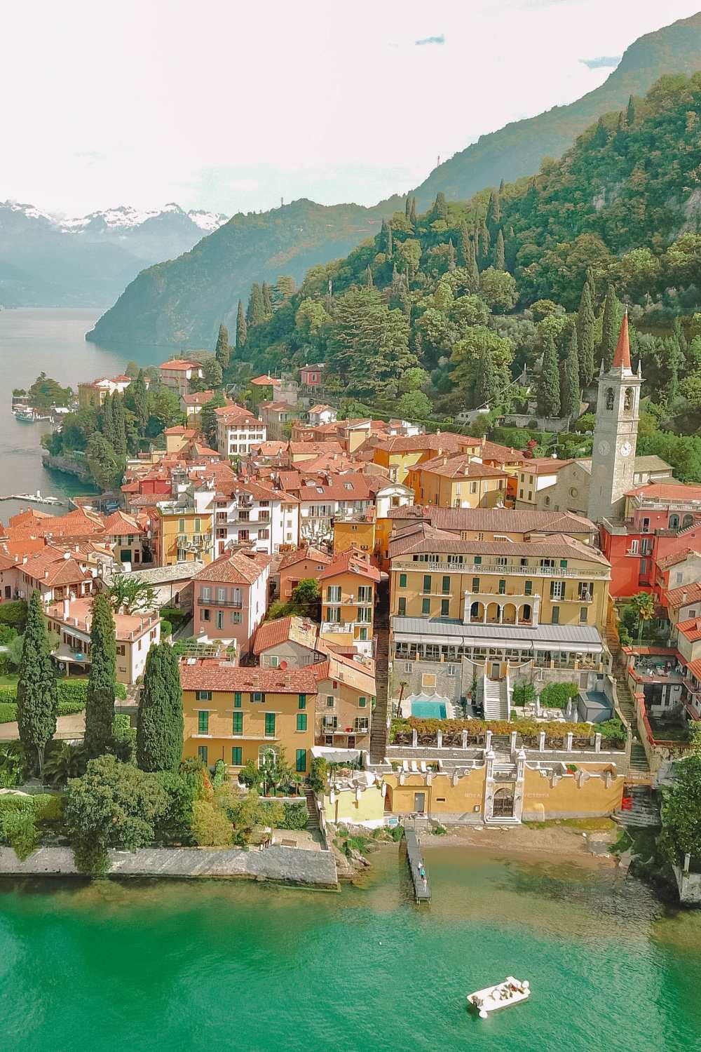 Towns in Lake Como to visit