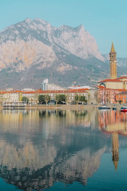 Best views across Lake Como