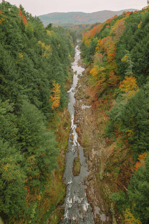 Gorge in Vermont