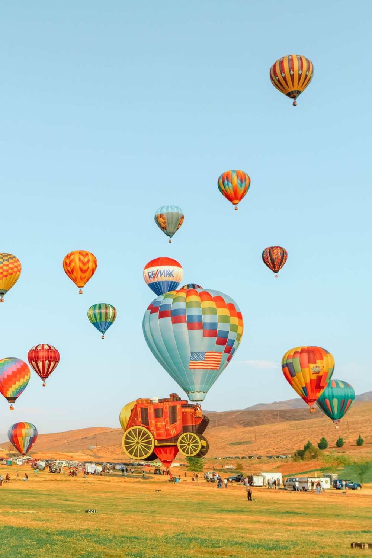 Ballon festival in Reno