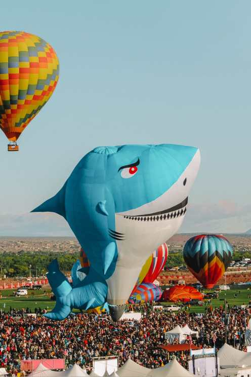 Ballon Fiesta October In Albuquerque