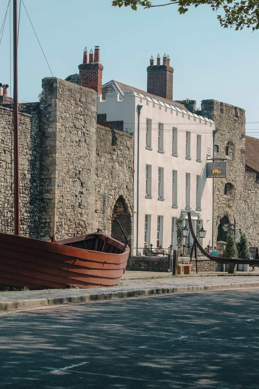 City Walls In Southampton