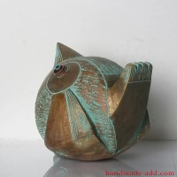 Gold Bird Figurine, Statuette Statue Sculpture Pottery ...