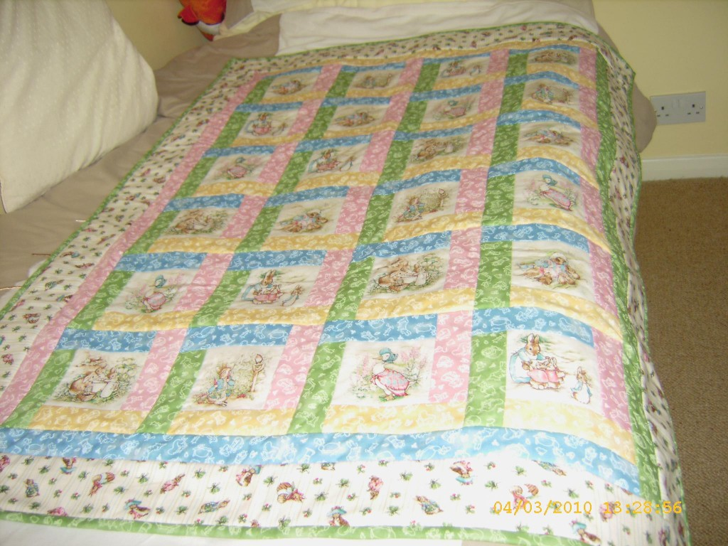 Bed Sofa and lap QuiltsHand Made Quilting