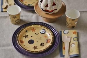 ハロウィン 紙皿 紙コップ