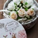 母の日に贈るプチプラ手作りギフト!100均の造花がお洒落♪