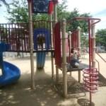大阪市三国でお薦めの子供が夏でも遊びやすい日陰のある公園は西三国センター前!