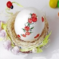 Пасхальные яйца в аппликациях и декоративной бумаге - МК и идеи