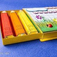 Шоколадные карандаши в пенале своими руками (МК)