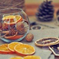 Как высушить цитрусовые для поделок (МК)
