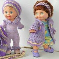 Вязаная одежда для кукол - фото-идеи
