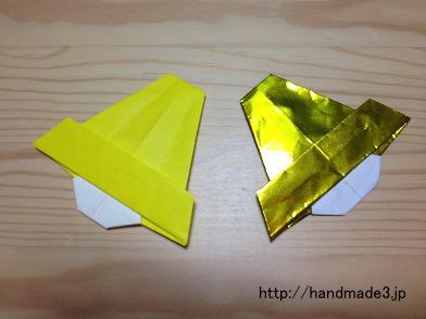 折り紙でクリスマスベル
