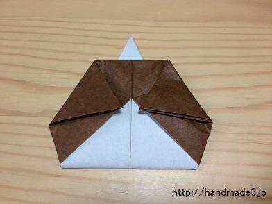 折り紙で作った五人囃子
