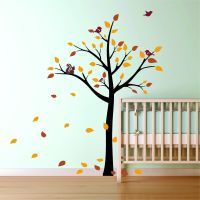 Tree Wall Decal Nursery on Handmade Artists' Shop