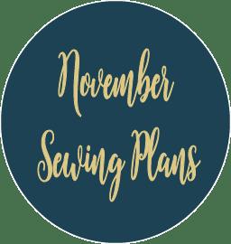 November Sewing Plans