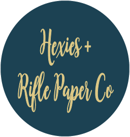 Hexies + Rifle Paper Co!