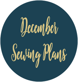 December Sewing Plans