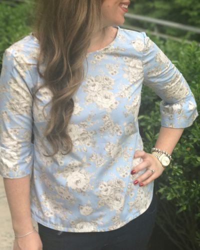 Laurel Top | Minerva Crafts Guest Post