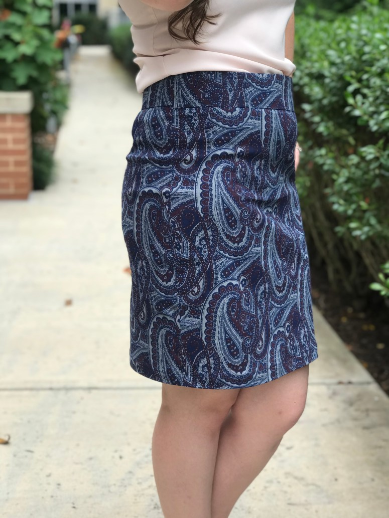 Alberta Street Pencil Skirt   Handmade by Lara Liz