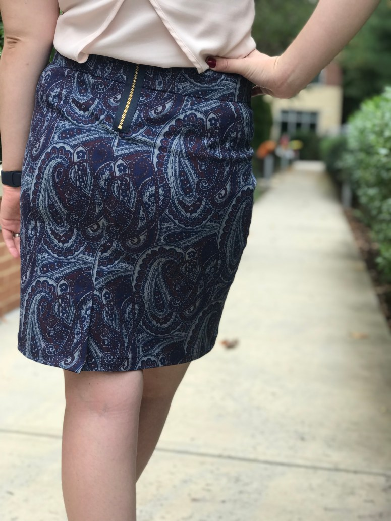 Alberta Street Pencil Skirt | Handmade by Lara Liz
