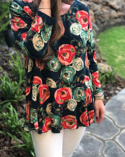 Saiph Tunic | Minerva Crafts Blogger Network