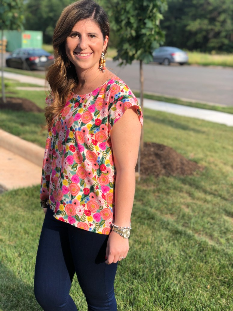 Summer Day Top Pattern Review | Handmade by Lara Liz