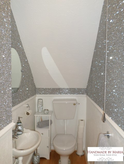 Glitter Wallpaper Handmade By Maria