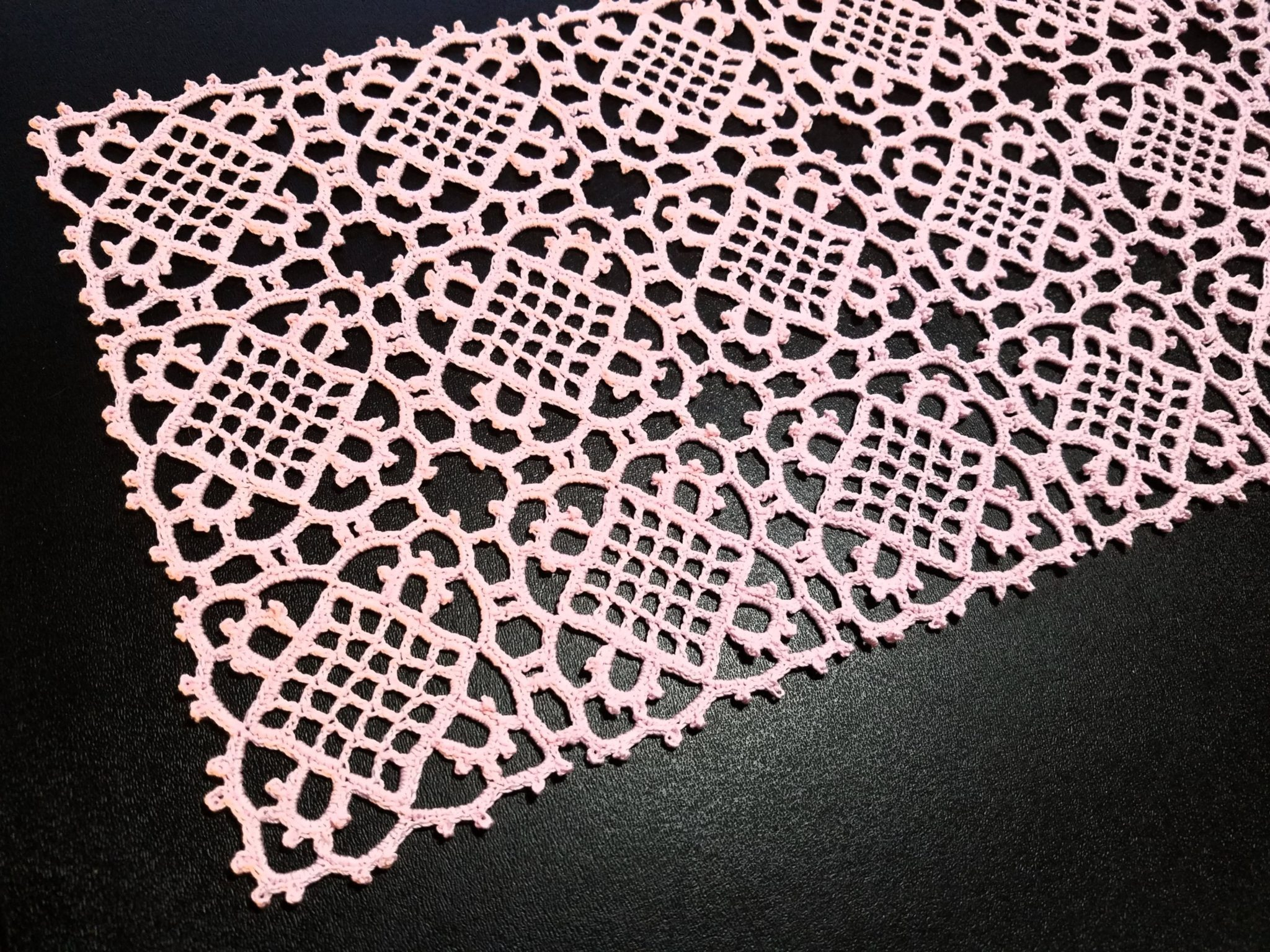 How to crochet Venetian square