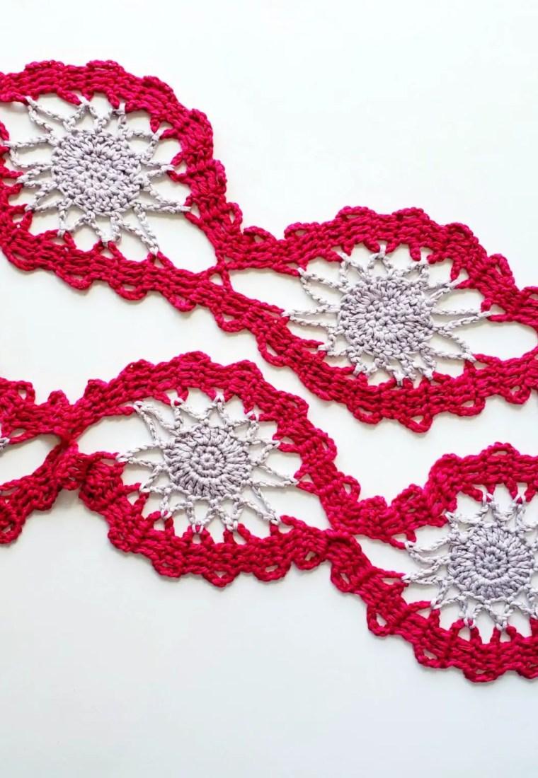 Crochet Bruges lace