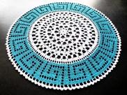 crochet greek doily