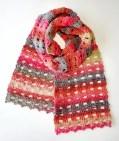 soft trellis scarf