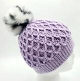 crochet snowbird hat