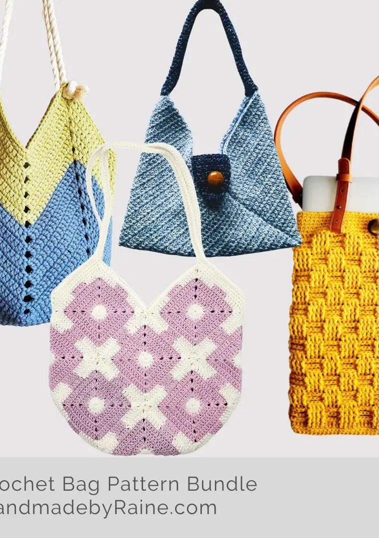 Crochet Bag Pattern Bundle
