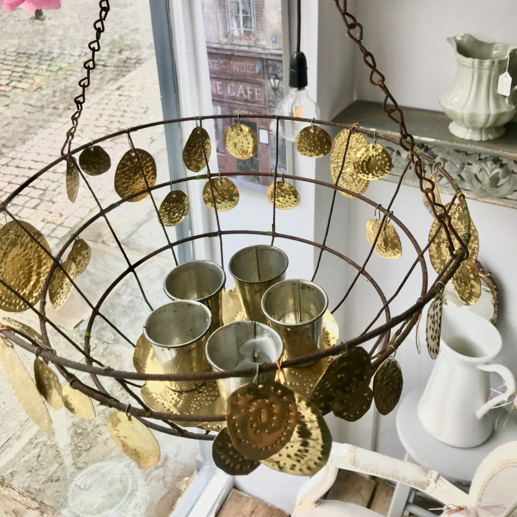 Money for Nothing Sarah Moore Hanging Basket Candle Holder