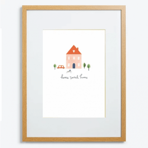 Home Sweet Home A5 Sized Print