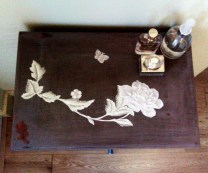 Details of cabinet top