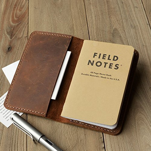 leather journal cover for