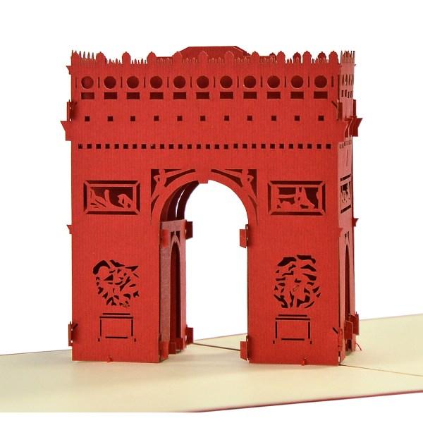 building model 3d popup card