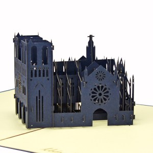 Notre-Dame de Paris 3D model popup card