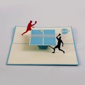 sport 3D popup card