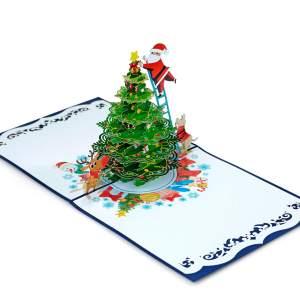 Christmas 3D popup card