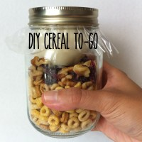 DIY CEREAL TO-GO