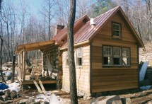 Part Four Of. Building Rustic Cabin - Handmade Houses